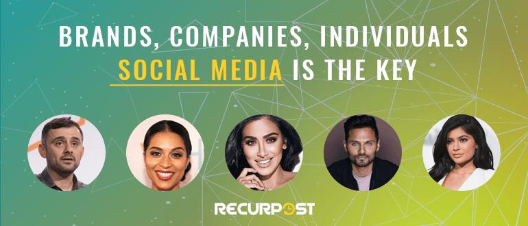 social media is the key - social media scheduler