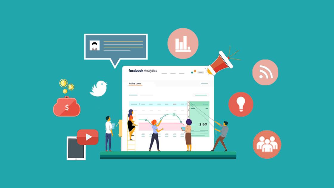 Facebook analytics - social media scheduler