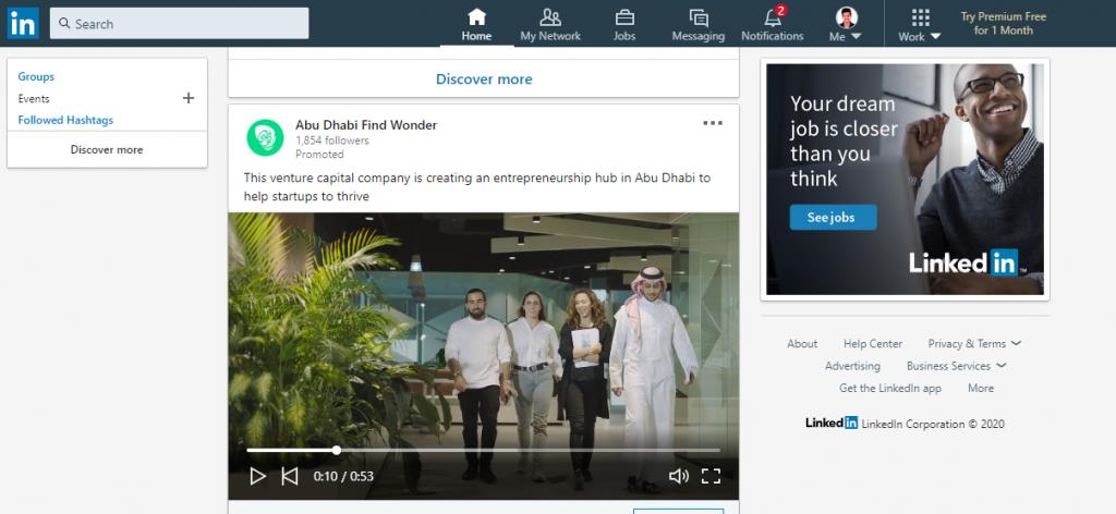 types of LinkedIn ads - recurpost - social media scheduler