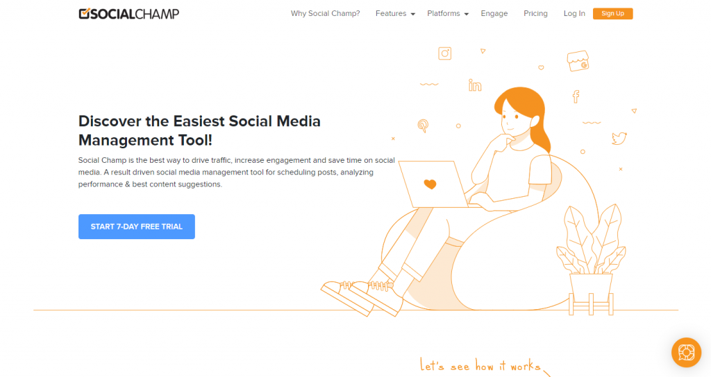 socialchamp -  social media scheduler