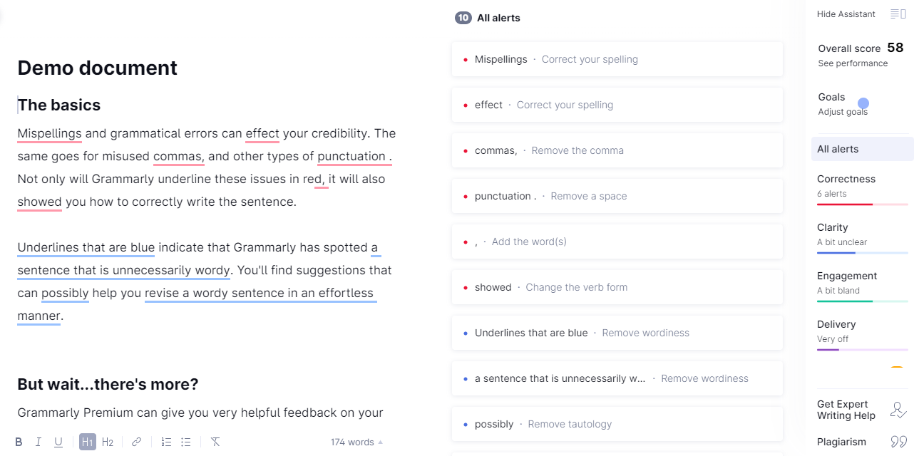 grammarly-recurpost-social media scheduler