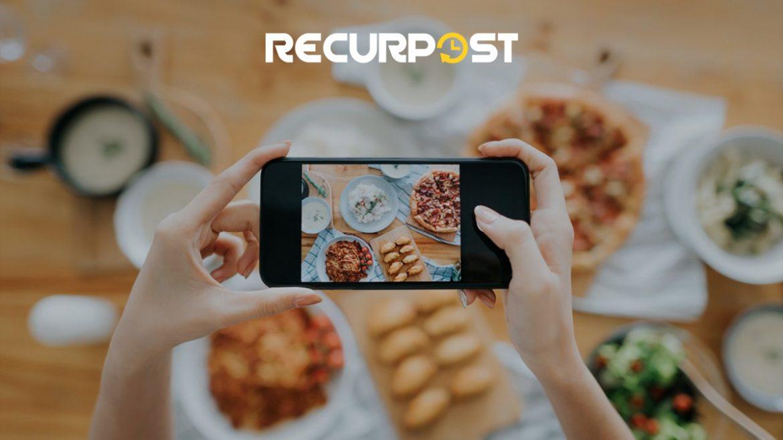 food blogging- recurpost-social media scheduling tool